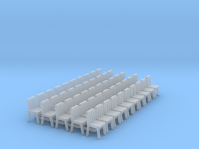 seat-50X in Smooth Fine Detail Plastic
