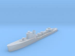 Italian Sirio torpedo boat 1:2400 WW2 in Smoothest Fine Detail Plastic