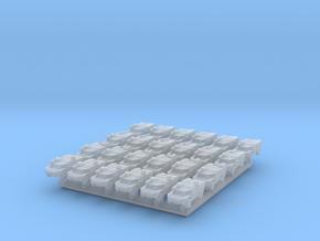 1/700 Fennek x24 (FUD) in Smooth Fine Detail Plastic