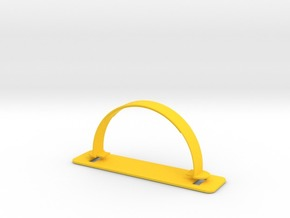 BOX PLASTIC HANDLE in Yellow Strong & Flexible Polished