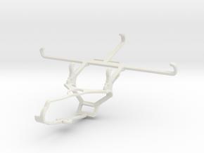 Controller mount for Steam & vivo Z5 - Front in White Natural Versatile Plastic