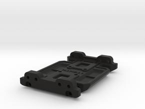 LCG Skid Gen7 Trans for SCX10 Metal Chassis in Black Natural Versatile Plastic
