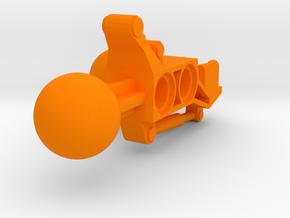 Articulated Mata Arm 1 in Orange Processed Versatile Plastic