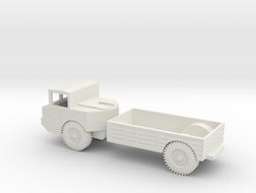 1/100 Scale M520 Goer Truck in White Natural Versatile Plastic
