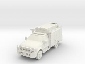 ~1/87 NYPD ESU ESS in White Natural Versatile Plastic
