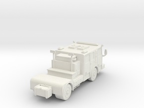 ~ 1/87 HO Seagrave tractor in White Strong & Flexible