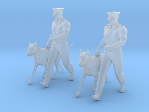 Police K-9 Unit Walk in Smoothest Fine Detail Plastic: 1:64 - S