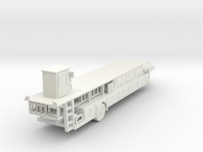 ~1/87 Seagrave Tiller HO in White Natural Versatile Plastic