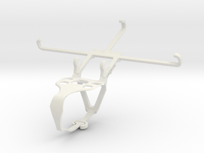 Controller mount for F710 & TECNO Phantom 9 - Fron in White Natural Versatile Plastic