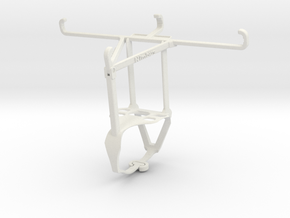 Controller mount for F710 & Xiaomi Mi A3 - Top in White Natural Versatile Plastic