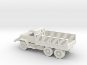 1/72 Scale M35 Cargo Truck in White Natural Versatile Plastic