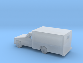 1/144 Scale Ambulance in Smooth Fine Detail Plastic