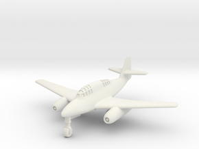 "(1:200 what-if) Messerschmitt Me 262 G-1 ""2Z+BM"" in White Natural Versatile Plastic"