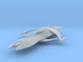 ISA_gunboat2fin_6inch in Smooth Fine Detail Plastic