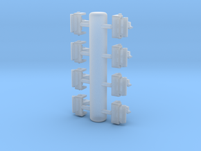 Spare Knuckles & Holding Brackets 1/48 in Smoothest Fine Detail Plastic
