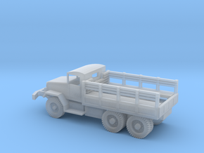 1/100 Scale M34 Troop Truck in Smooth Fine Detail Plastic