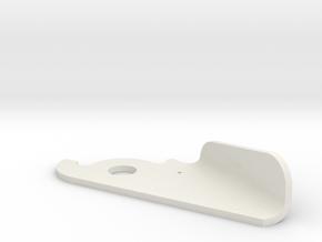 PUSH handle in White Natural Versatile Plastic