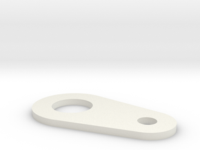 Cable lever in White Natural Versatile Plastic