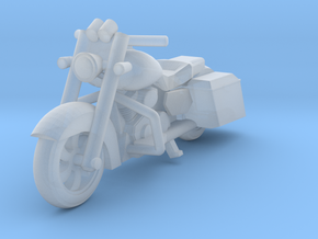 HO Scale King of the Road Motorcycle in Smoothest Fine Detail Plastic