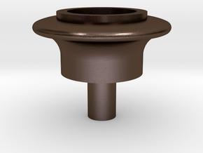 Terrier Copper cap OO in Polished Bronze Steel