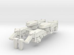 DH motor draaistel in White Natural Versatile Plastic