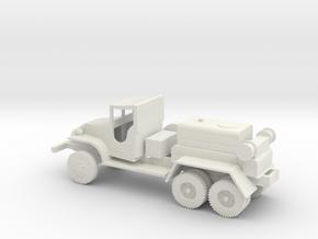 1/72 Scale GMC CCKW Airfield Compressor in White Natural Versatile Plastic