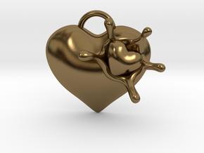 LoveSplash in Polished Bronze