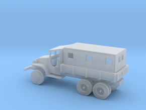 1/100 Scale GMC CCKW 2.5 ton Van in Smooth Fine Detail Plastic
