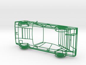 Lamborghini Urraco 1:24 in Green Processed Versatile Plastic