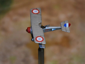 Nieuport 12 in White Natural Versatile Plastic: 1:144