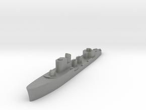 Italian Pleiadi torpedo boat 1:3000 WW2 in Gray PA12