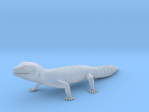 Leopard Gecko - Life Sized Model  in Smooth Fine Detail Plastic