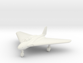 (1:144 what-if) Messerschmitt Me P.1112 One-seater in White Natural Versatile Plastic