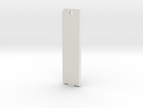 battery cover pin closure in White Natural Versatile Plastic