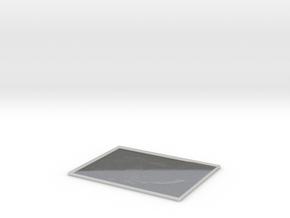 Albert Einstein Lithophane in Smooth Fine Detail Plastic