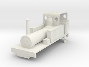 b-re-55-mw-eskdale-loco in White Natural Versatile Plastic