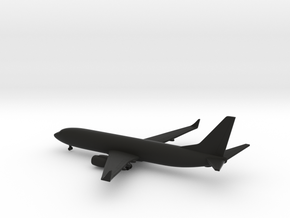 Boeing 737-800 Next Generation in Black Natural Versatile Plastic: 1:500