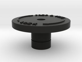 42 Lock knob for Prop and Mixture Lever in Black Natural Versatile Plastic