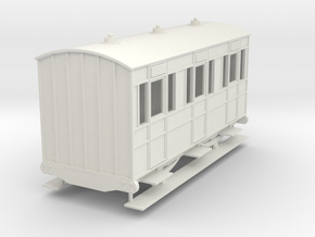 o-re-43-eskdale-1st-class-coach in White Natural Versatile Plastic
