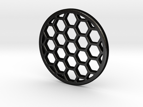 Honeycomb KillFlash 38mm Diameter 3mmHeight in Matte Black Steel