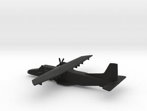 Dornier Do 228-212 NG (w/o landing gears) in Black Natural Versatile Plastic: 1:200