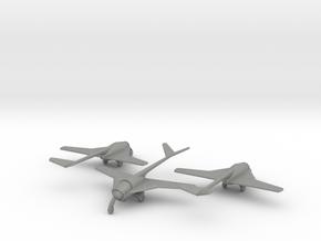 (1:144)(x3) Messerschmit 'Libelle' in Gray PA12