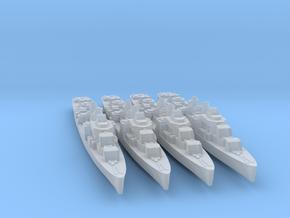 4pk sprue USS Allen M. Sumner 1945 1:1800 WW2 in Smoothest Fine Detail Plastic