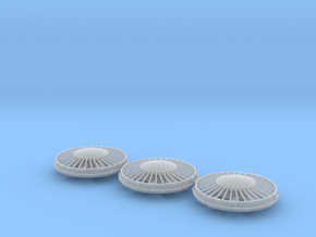 "36"" Cap Fan 1/48 in Smoothest Fine Detail Plastic"