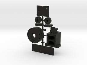 MC411SP-Transmission Set in Black Natural Versatile Plastic