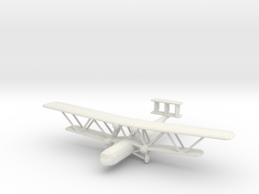 1/285 (6mm) Handley Page H.P.42 in White Natural Versatile Plastic