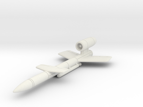 (1:144 fictional) V-4 Wunderwaffe in White Natural Versatile Plastic