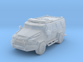 Lenco BEAR MRAP 1:87 scale in Smooth Fine Detail Plastic
