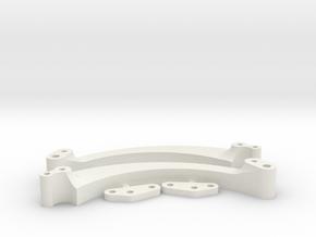 Stingray V4 6in rear extension in White Natural Versatile Plastic