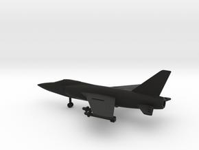 Grumman F-11F-1F Super Tiger in Black Natural Versatile Plastic: 1:200